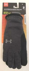Under Armour Men's Storm ColdGear® Reactor Winter Gloves AB3 Dark Gray Small NWT