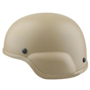EMERSON Tactical MICH ACH 2000 Helmet DE for Airsoft Hunting Paintball Wargame