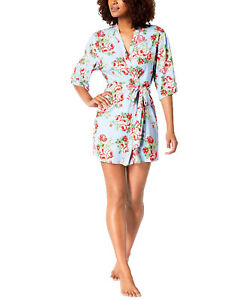 Flora by Flora Nikrooz Printed Cleo Knit Wrap Robe