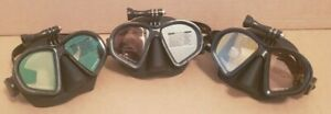 Underagua spearfishing GoPro Camera Dive Mask Mirror Tempered Glass Low Volume
