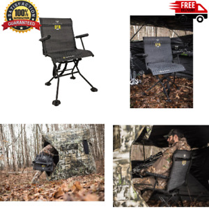 HAWK Stealth Spin Blind Chair Bone Collector - Spins full 360-degrees