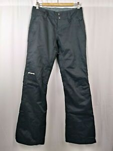 Patagonia H2NO Womens Ski Snowboard Pants Black Insulated Vented size Small