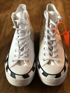 OFF-WHITE VIRGIL ABLOH CONVERSE CHUCK 70 AUTHENTIC Ez 11 MENS 163862C HI TOP