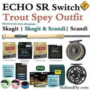 ECHO SR 4wt Trout Spey Outfit - Skagit SA Scandi or Both - FREE SHIPPING