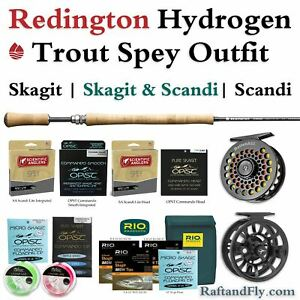 Redington Hydrogen 4wt Trout Spey Outfit - Skagit SA Scandi or Both