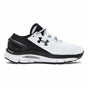 New! UNDER ARMOUR SPEEDFORM GEMINI 2 RUNNING SHOES WOMENS 9 WHITE BLK