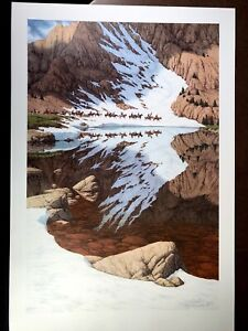 """Bev Doolittle's """"Season of the Eaglequot; original limited edition signed Lithograph $310.50"""