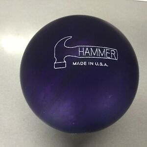 Hammer PURPLE PEARL   Urethane  bowling  ball 15 LB 1st quality  new in box