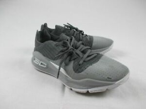 Under Armour Curry 4 Low Gray Basketball Shoes Men's 9.5 Used $51.99