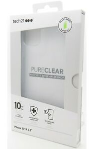 Tech21 Evo Pure Clear Series Case Clear for the Iphone 11 Pro Max 6.5