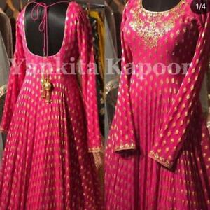 Lace Border Women Salwar Suit Designer Long Party Wear Festive Dress NSR 106