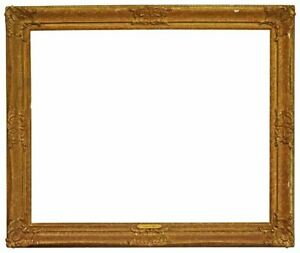 American 1950 Painted and Gilded Louis Style Picture Frame 24x30 SKU 1572 $500.00