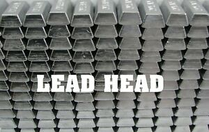 25 Pounds Lbs. Pure Soft Lead Ingots for Casting Molding Jigs Sinkers Bullets