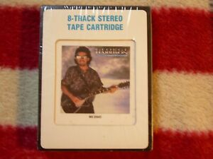 George Harrison Cloud Nine 8 Track Very Rare 1987 Sealed with Extras