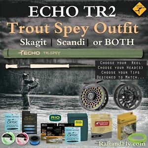 Echo TR2 4wt Trout Spey Outfit Skagit Scandi or Both - FREE SHIPPING