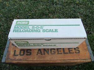 RCBS Model 505 Reloading Scale Excellent Looks New OHAUS