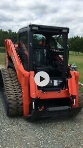 2019 KUBOTA SVL 95-2S CAB SHFC TRACK LOADER WITH, AC/HEAT! Price Is Payoff ,
