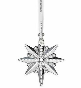 2019 Waterford Snowstar Crystal Christmas Tree Ornament