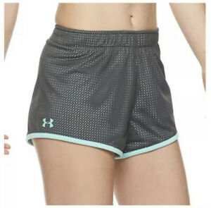 NWT$30 Under Armour Women's Reversible Play Up Mesh Shorts 1328919 010 XL 2XL $14.99