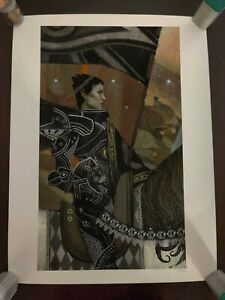 Dragon Age Inquisition Strength Giclee #219300 Art Print Tarot Lithograph