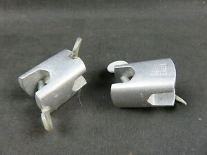 Cenco fixed right angle clamp holder 0.75 inch jaw lot of 2 chemistry lab clamps $15.95