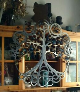 Large Metal tree of life Sculpture indoor outdoor Modern Wall Art home Decor art