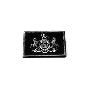 Pennsylvania State Flag Tactical Patch BLACK Moral Patch Hook amp; Loop USA $5.95