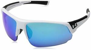 New Under Armour CHANGEUP DUAL 8600129 110161 Satin White Sunglasses $75.65
