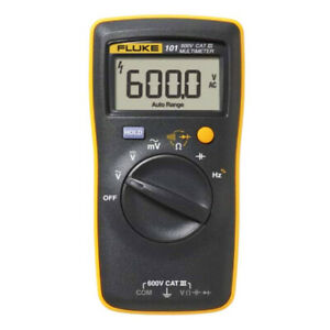 Fluke 101 Basic Digital Multimeter Pocket Portable Meter AC DC Volt Tester $59.85