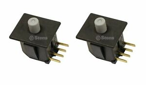 2 Pack Safety Switch For Scag 483473 Husqvarna 587648401 MTD Cub Cadet 925 04165