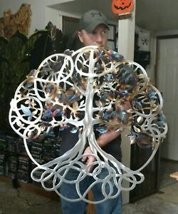 Metal tree Wall Art tree of Life cottage country kitchen decor gift idea art $225.00