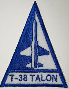 USAF Northrop T 38 Talon Supersonic Trainer Patch Hook amp; Sew Repro New A24