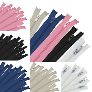 50 100x Nylon Coil Zipper Tailor Sewer Craft Multicolor DIY Sewing 3.6 4.7quot; 6.8quot; $3.99