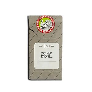 10 Organ 7X4NW DYX3LL 794LL Leather Point Sewing Machine Needles Singer Consew $9.30