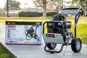 A-iPower Pressure Washer APW4200 Heavy Duty Pressure Washer 4200PSI