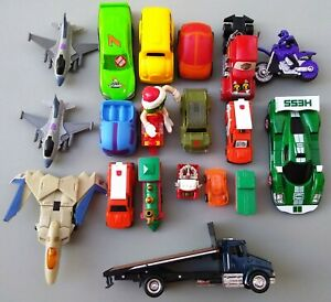 TOY LOT OF 19 SMALL CARS TRUCKS PLANES amp; OTHERS HUGE VARIETY