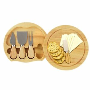 Sorrento Grand Chef Cheese Set Cutting Board 5 pc Set In Box Holiday Gift Party $19.80
