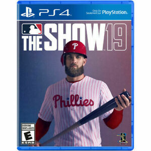 MLB The Show 19 PS4. Brand New. Sealed.
