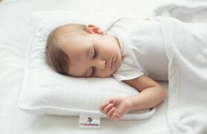 Mabel Home Kids Baby Toddler Pillow White 14quot;x18quot; Hypoallergenic