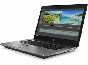 HP ZBook 17 G6•512GB•NVME•Touch•i9-9880H•Webcam FP•UHD UHD•17.3