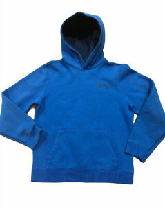 Under Armour Youth Big Boy's Fleece Hoodie Blue Size YMD $11.99