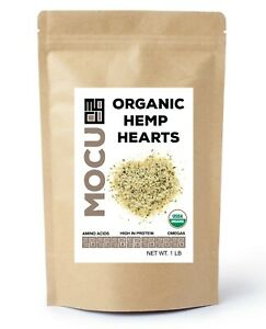 Organic Hemp Hearts US Grown