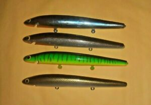 Bagley 5 Inch Bang-O-Lure Bait Blanks Winter Haven Lot of 4 lot B