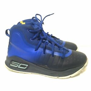 Under Armour Steph Curry 4 Royal Blue Basketball Shoes Sneakers Youth 3 $12.00