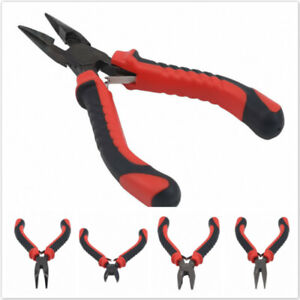 Wire Pliers Cutter Multiple Types Needle Metal Tools Curved Mini Parts Car CF