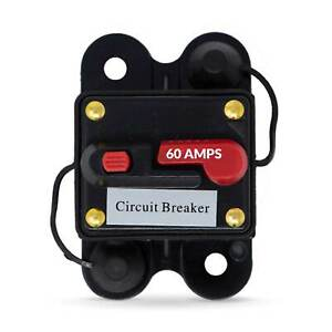 60 Amp Anchor Windlass Circuit Breaker with Manual Reset Button 12V FO 3295 1 $28.99