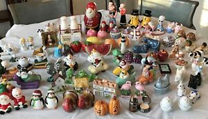 Vintage Collectible Salt & Pepper Shakers - Used - You Pick from 77 sets