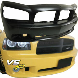 VSaero FRP SRT-8 Front Bumper 1pc for Dodge Charger 06-10