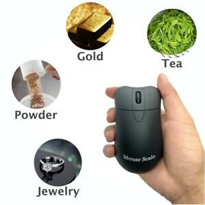 200g x 0.01g Portable High Precision Digital Mouse Look Scale Battery Included $11.83