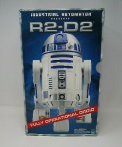 R2-D2 Industrial Automaton STAR WARS Fully Operational Droid 2001 MIB NEW